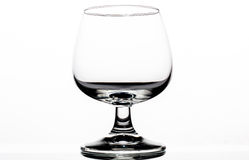 Wineglass. Only a Wineglass with a white backround royalty free stock photo