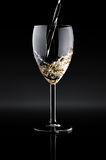 A wineglass with wine Royalty Free Stock Photos