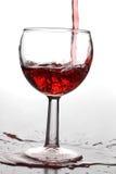 wineglasses ρευμάτων Στοκ εικόνα με δικαίωμα ελεύθερης χρήσης