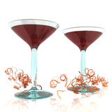 Wineglasses Stock Image