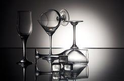 Wineglasses Imagem de Stock