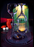 wineglasses Στοκ Εικόνα