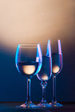 Wineglasses Royalty Free Stock Photos