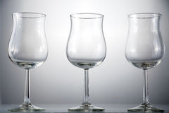 Wineglasses fotografia stock