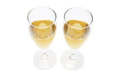 Wineglasses Stock Photography