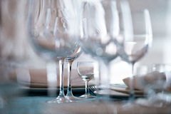 wineglasses arkivfoto
