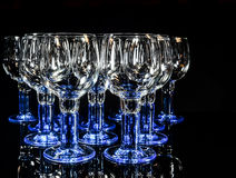 wineglasses Photos stock