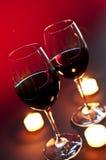Wineglasses Imagem de Stock Royalty Free