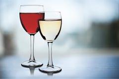 wineglasses Royaltyfri Bild