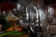 wineglasses image stock