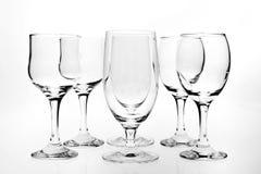 wineglasses Arkivfoto