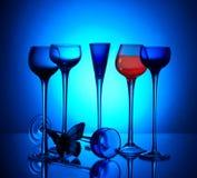 wineglasses Fotografia Stock