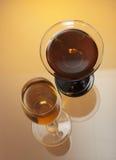 Wineglasses Foto de Stock Royalty Free