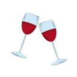 Wineglasses Royalty Free Stock Image