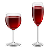 Wineglasses Royalty Free Stock Images