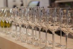 Wineglasses Stock Photography