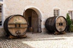 Winekällareingång royaltyfri foto