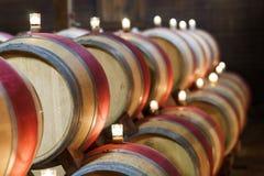 Winetrummor Arkivfoton