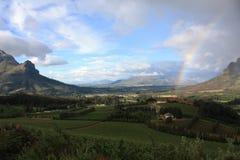 winelands плащи-накидк Стоковое фото RF