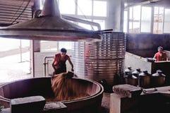 Winemakers στα κινέζικα Στοκ φωτογραφίες με δικαίωμα ελεύθερης χρήσης