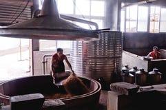 Winemakers в китайце Стоковая Фотография RF