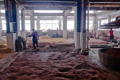 Winemakers dans le Chinois Photographie stock libre de droits