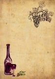 Winemaking background Stock Images