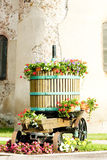 Winepress, Alsace Stock Photos