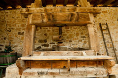 Winepress in Alsace Stock Photos