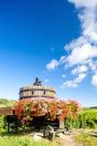 Winepress, Burgundy Stock Photo