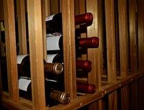 WineRack Arkivfoton