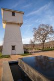 White water tower and oak Napa Stock Photos