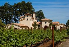 Winery. In Napa Valley California Royalty Free Stock Images