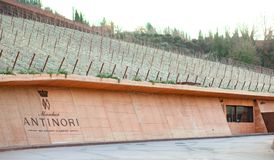 The winery of Antinori nel Chianti Classico Royalty Free Stock Photos