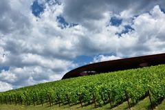 The winery of Antinori nel Chianti Classico. Florence my city, my love stock image