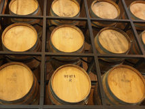 Winery barrels Royalty Free Stock Images