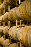 Winery barrels Stock Photo