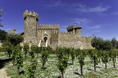 Winery Castle Stock Image