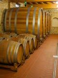 Winery cellar Stock Photography