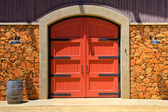Winery Door Stock Photography
