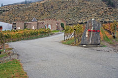 Winery in the fall Royalty Free Stock Photos