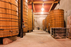 Winery interior Royalty Free Stock Images