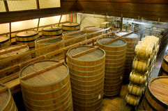 Winery interior. Interior of a winery in Napa, California Stock Photo