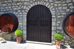 Winery in Italy stock photos