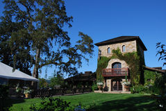 Winery in Napa Valley Stock Photo