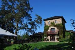 Winery in Napa Valley Stock Photo