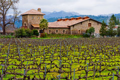 Winery in Napa Valley Royalty Free Stock Images