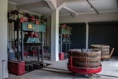 Winery Plant Mendoza Argentina Royalty Free Stock Photo