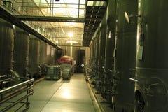 Winery Santa Cruz Chile. View of Winery Santa Cruz Chile royalty free stock photos