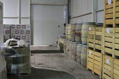 Winery Santa Cruz Chile. View of Winery Santa Cruz Chile stock photo